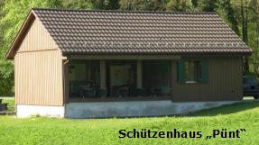 Schützenhaus Pünt in Rorbas