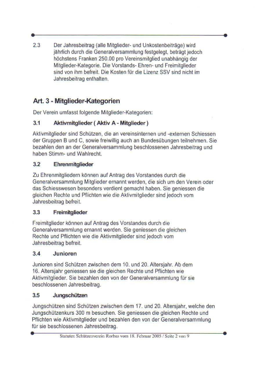 Statuten Seite 2